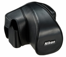 Nikon CF-DC6 Leather Case Set Black