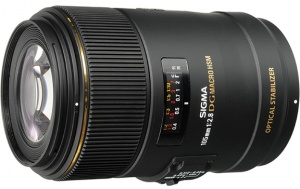 Sigma 105mm f/2.8 Macro EX DG HSM OS for Nikon