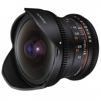 Rokinon 12mm T/3.1 Cine DS ED AS IF NCS UMC Fisheye for Nikon
