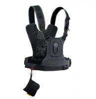 Cotton Carrier CCS G3 Harness for 1 camera Grey