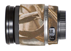 Lens Coat pour Canon EF-S 18-200mm f/3.5-5.6 IS RealTree Max4
