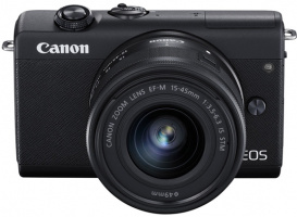 Canon EOS M200 Noir / EF-M 15-45mm IS STM