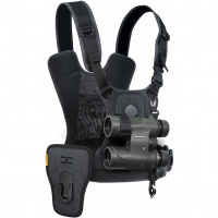 Cotton Carrier CCS G3 Harness for 1 camera and 1 binocular Grey