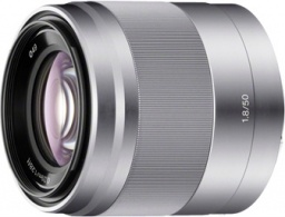 Sony E 50mm f/1.8 Argent